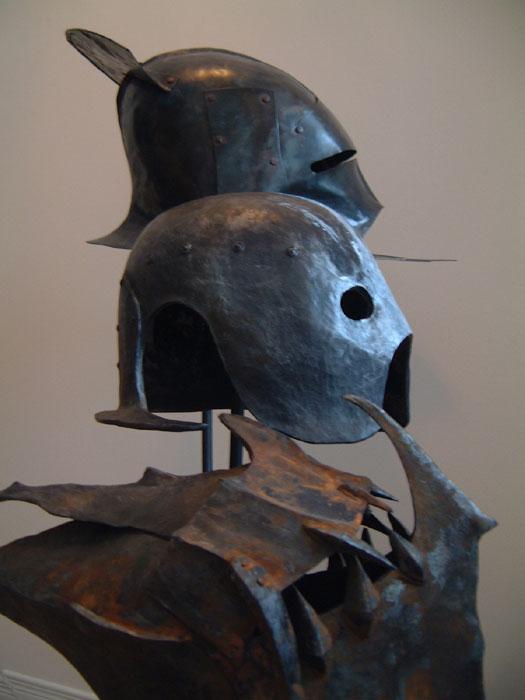 Cast Iron Paint >> Kropserkel: Orc helmets and masks