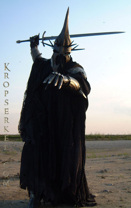 Kropserkel Dark Rider Nazgul WitchKing Costume And Armor