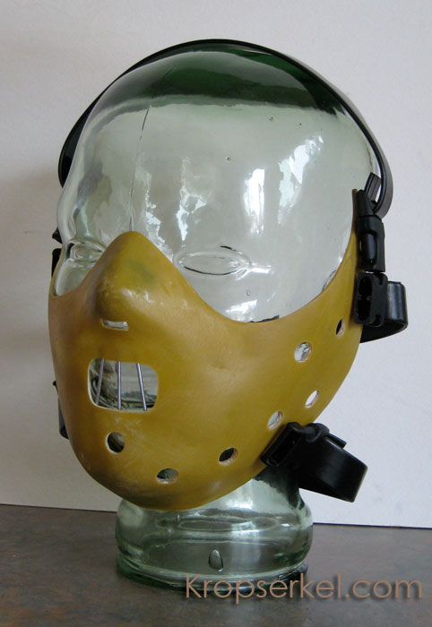 Kropserkel: Hannibal Lecter restraint mask