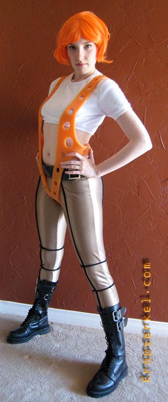 kropserkel leeloo fifth element costume. Black Bedroom Furniture Sets. Home Design Ideas